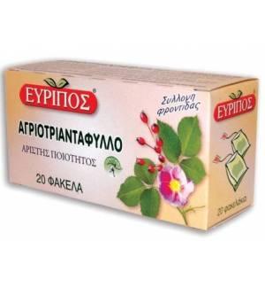 Τσάι Αγριοτριαντάφυλλο Εύριπος 20 Φάκελα Φυσικό τονωτικό Προϊόν