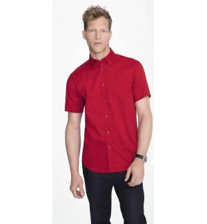 Sol's Brooklyn 16080 Men's Short Sleeve Shirt 100% Cotton