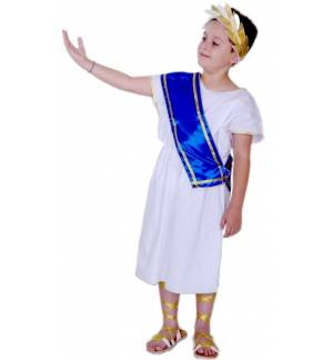 GREEK TRADITIONAL COSTUME ANCIENT GREEK BOY 4-14 YEARS MARK676