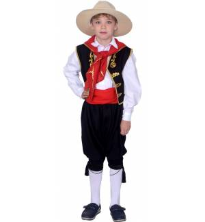 Greek Traditional Costume Corfiot 6-12 years old Corfu MARK750