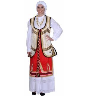 Παραδοσιακή φορεσιά Ρούμελη Εφηβική & Γυναικεία MARK624