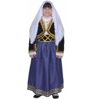 Παραδοσιακή Στολή ΚΡΗΤΙΚΟΠΟΥΛΑ ΧΑΝΙΩΤΙΚΗ 1 6-12 MARK771