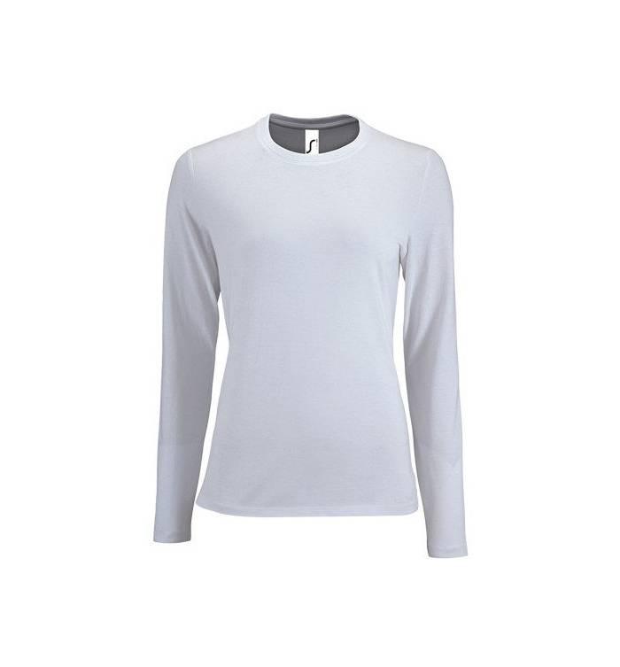 c012717dc772 Sol s Imperial LSL Women Λευκό 02075 Γυναικείο μακρυμάνικο T-shirt