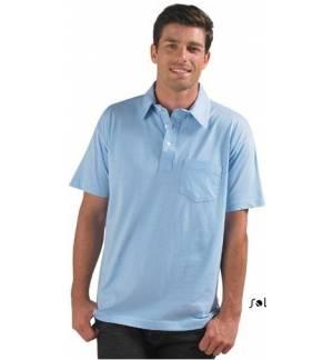 Sol's Parity 11312 Ανδρικό t-shirt Ζέρσει με γιακά 150γρ. 100% βαμβάκι πενιέ