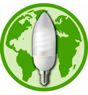 5W E14 Λαμπτήρας Οικονομίας Κερί (Soft Candle)