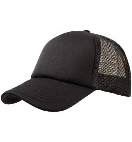 839 Καπέλο με δίχτυ τύπου trucker 100% πολυέστερ με σφουγγάρι στο γίσο και στο μέτωπο