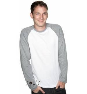 Sol's Trendy Προσφορά 11430 Ανδρικό T-shirt Ζέρσει 100% βαμβάκι