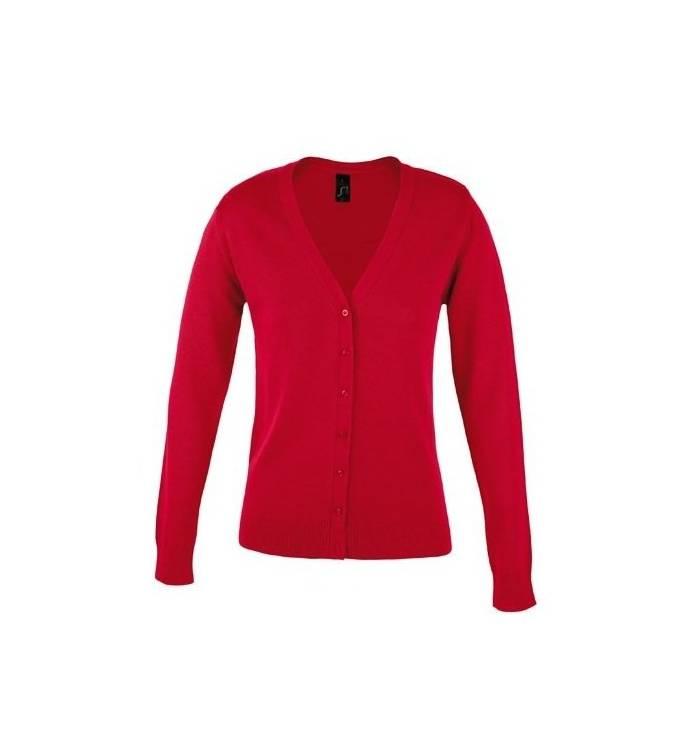Sol s Golden Women 90012 Women s V-neck knitted cardigan 9506ad51d