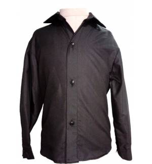 BLACK CLASSIC SHIRT UNISEX MARK803