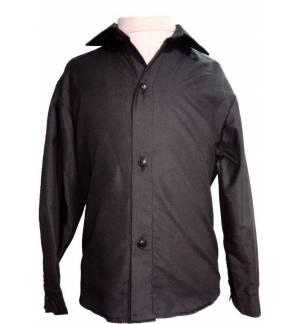 BLACK CLASSIC SHIRT UNISEX MARK803