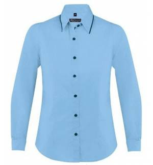 Sol's Baxter women  00569 Γυναικείο μακρυμάνικο πουκάμισο σε στενή γραμμή