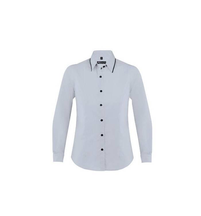 f57a9838833c Sol s Baxter women 00569 Γυναικείο μακρυμάνικο πουκάμισο σε στενή γραμμή