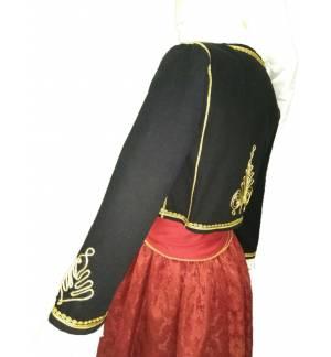 Greek Traditional Costume CRETAN WOMEN Handmade Embroidery XS-XL Kritikopoula MARK804