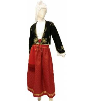 Greek Traditional Costume CRETAN WOMEN Embroidery XS-XL Kritikopoula MARK805