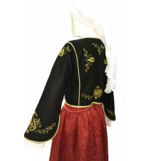 Greek Traditional Costume CRETAN WOMEN Embroidery XS-XL Kritikopoula MARK805