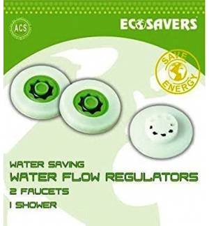 Smart Water Savers for 2 Faucets and 1 Shower Ecosavers