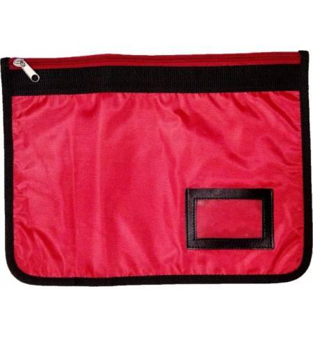 Τσάντα Φροντιστηρίου, με μία θήκη με φερμουάρ Διαστάσεις: 35x25ε