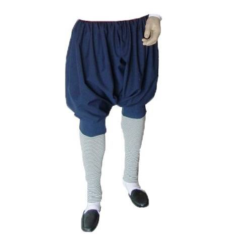 Blue Wool Island Men Pants Greek Traditional trousers MARK808 4-12 years old Costumes Accessory Accessories