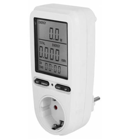 EcoSavers Energy Meter Μετρητής Ενέργειας Πρίζας Κατανάλωσης Συσ