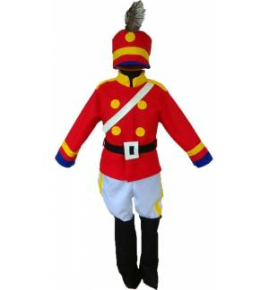 Christmas Carnival Halloween Costume kids the little Drummer Boy MARK810