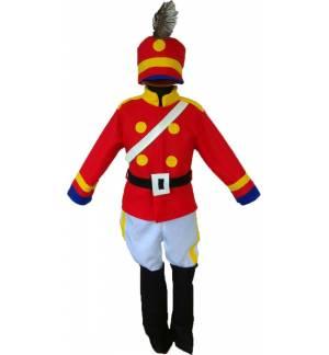 Christmas Carnival Halloween Costume kids the little Drummer Boy MARK810
