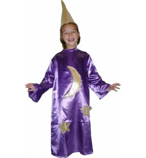 Carnival Halloween Costume Queen of the Night LARGE, XL, XXL  MARK695