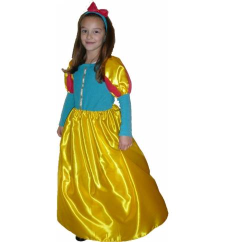 Carnival Halloween Costume kids Little snow white 4 -8 years Old