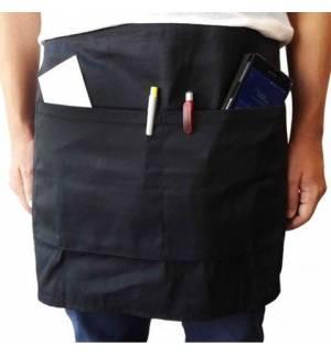407 Waiter's apron 65-35% polyester-cotton 180gms 70 x 40cm.