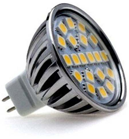Lumilife LED MR16 4W 3000Κ 300lm 12VDC DIMMER ΣΥΜΒΑΤΟ