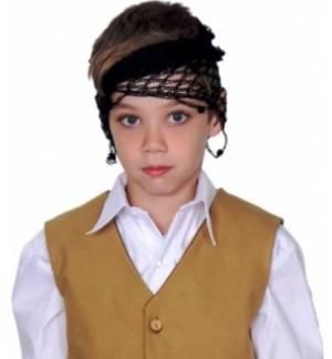 Greek Traditional Costumes Accessory Cretan Head turban Headnet