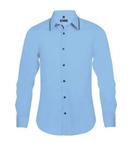 beec64eb2753 Sol s Baxter men 00567 Ανδρικό μακρυμάνικο πουκάμισο σε στενή γραμμή