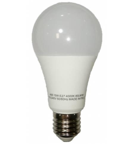 Λαμπτήρας LED 15W E27 4000K Ψυχρό 1300LM Λάμπα 230V Α+