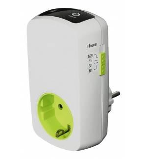 EcoSavers Chargestop Countdown Timer 230v EU Plug Easy Programma