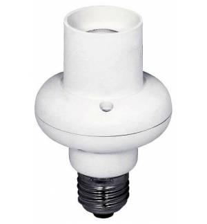 EcoSavers Microwaver Lampbase E27 Αυτόματη Βάση Λάμπας με Φωτοκύτταρο με μικροκύματα
