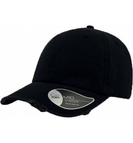 "Atlantis 893 Dad Hat Destroyed καπέλο Εξάφυλλο ""κατεστραμμένο"" τζόκεϊ 100% Βαμβάκι"