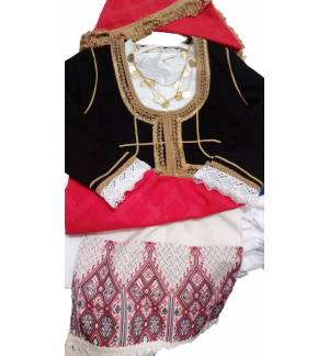 Greek Traditional Costume Kritikopoula 6-12 Years old CRETA MAR
