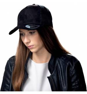 Atlantis 898 Rapper Suede Πεντάφυλλο καπέλο τζόκεϊ 100% Πολυέστερ