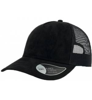 Atlantis 898 Rapper Suede 5 panels jockey cap hat 100% Polyester