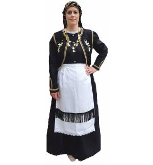 Greek Traditional Costume Epirus s-xl MARK779 WOMEN Ipirotissa