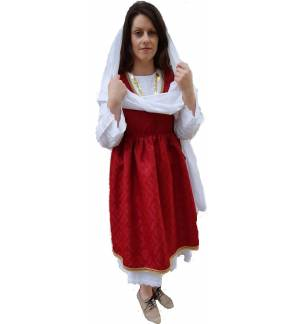 Greek Traditional Costume Paros Island S-XL Women MARK817