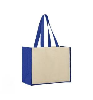 UBAG Sunset δίχρωμη τσάντα 100% Βαμβάκι 42x33x20εκ 28L