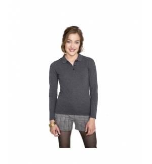 Sol's Perfect LSL Women 02083 Women's long-sleeves polo shirt