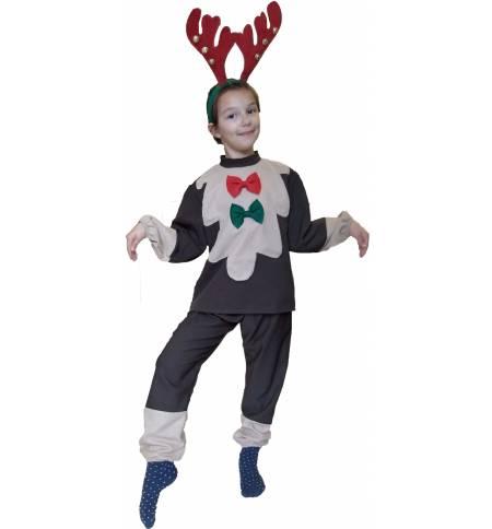 Christmas Costume kids Reindeer 4-8 years MARK652