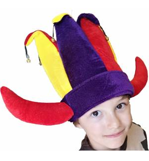 Halloween Viking hat with bells