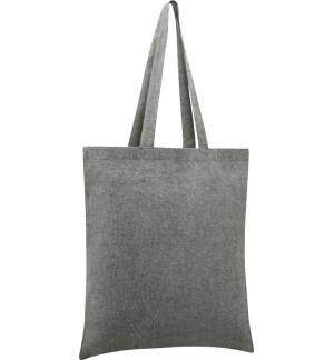 UBAG Vegas shopping bag Size 38x42cm. Capacity 10L. 96% Recycled cotton and 4% recycled PET tote bag 150gsm