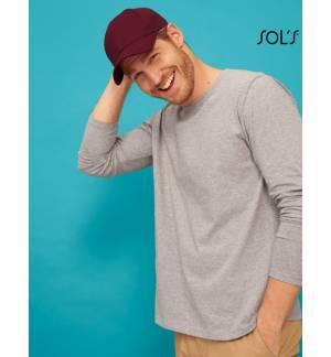 Sol's Blaze - 03093 Εξάφυλλο καπέλο τζόκεϊ 100% βαμβάκι μη λαναρισμένο 285g