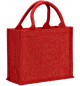 UBAG VAIL Τσάντα αγοράς από γιούτα και χρυσή κλωστή 100% Jute 26x22x14εκ.