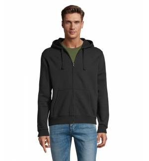 Sol's Stone 01714 Unisex zip hoodie Brushed fleece 260grs - 50% cotton - 50% polyester