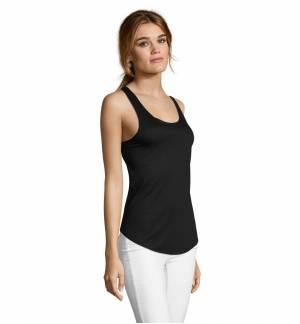 SOL'S JADE - 02944 Γυναικείο ελαφρύ αμάνικο μπλουζάκι Jersey 130 - 100% Πολυέστερ