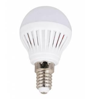 Λαμπτήρας LED μικρή σφαίρα 4.5W E14 Θερμό Λευκό 230-270LM Ranpo
